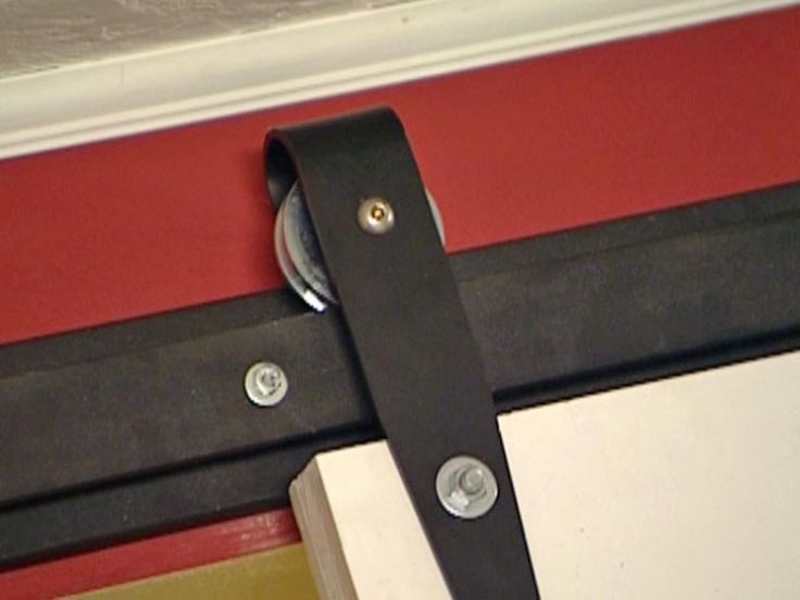 How To Hang An Interior Barn Door Track System