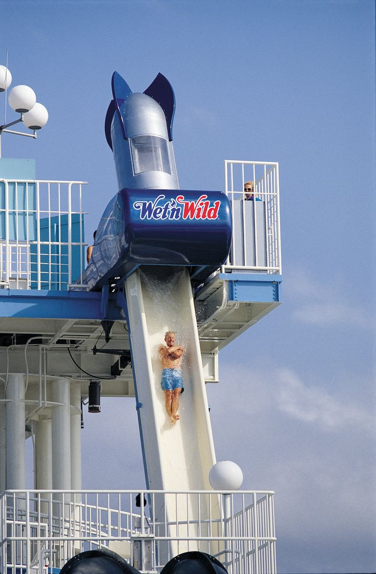 Wet'n Wild Orlando - Bomb Bay - Enter a bomb-like capsule and feel the floor drop from beneath you as you take a heart-stopping plunge down a 76-foot high, nearly vertical slide