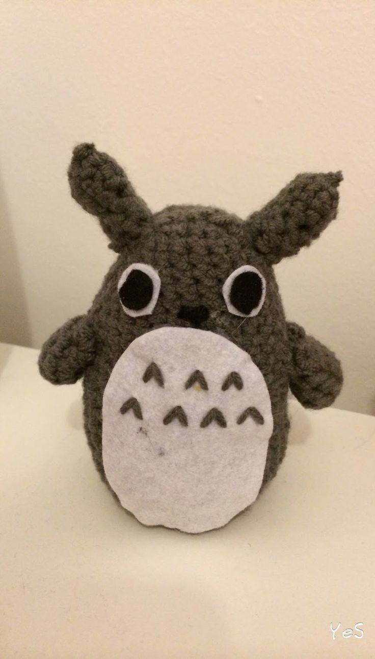 Totoro Amigurumi - Patron Gratis en Espanol aqu?: http ...