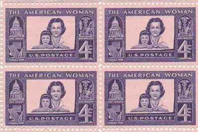 The American Woman Set of 4 x 4 Cent US Postage Stamps NEW Scot no.1152 ^^ Once in a lifetime offer : FREE Toys and Games