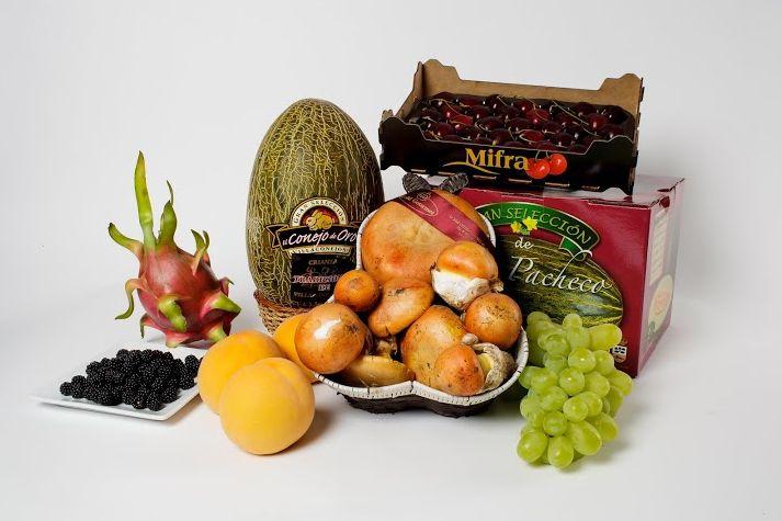 Selección de frutas gourmet.