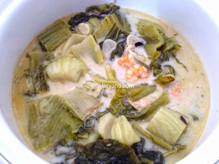 Resep Sambal Goreng Sayur Asin Udang   Effi Haryanti