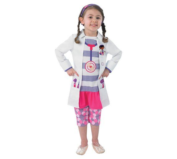 Buy Rubies Doc McStuffins Dress Up Outfit - 2-3 Years at Argos.co.uk, visit Argos.co.uk to shop online for Children's fancy dress costumes, Children's fancy dress, Role play, Toys