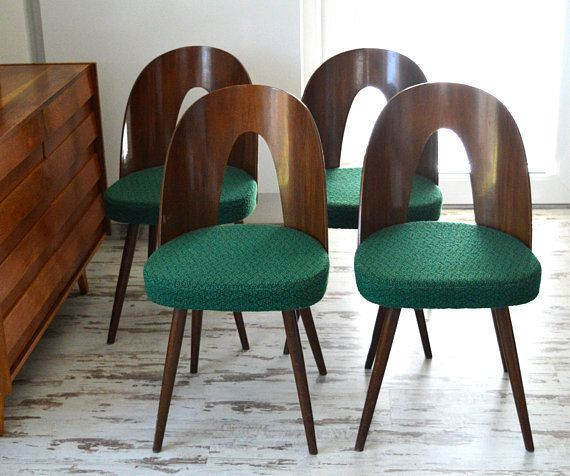 Chairs by Antonin Suman for Tatra, 1960s