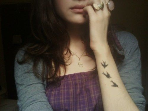 I will never get enough of bird tattoos
