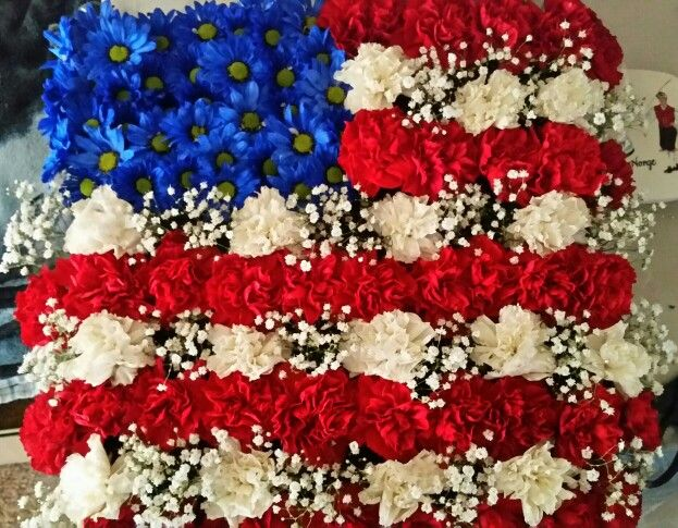 Flowers for Military Funerals - Blogs | Flowerama, Cedar ... |Military Funeral Flag Flowers