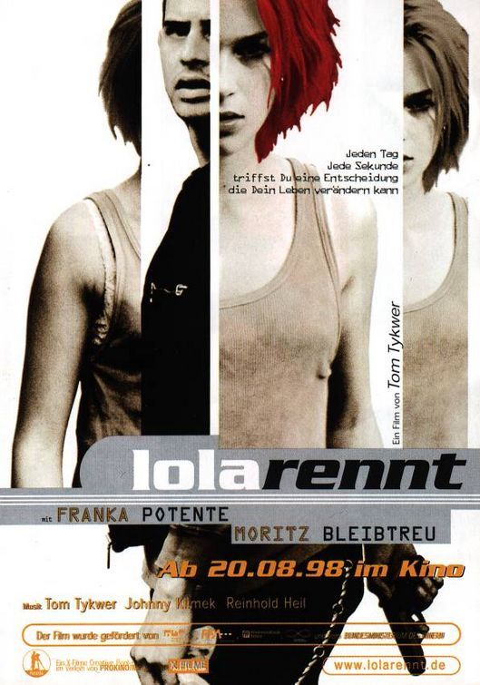 "run lola run interview ""run lola run"" launched the international careers of director tom tykwer and actress franka potente, made flame red hair a european craze, and even."