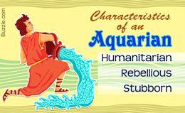 Characteristics of Aquarius Zodiac Sign
