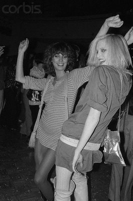 LYNNE KOHLMAN AND ANOTHER MODEL (NAME ESCAPES ME) ABOUT 1978