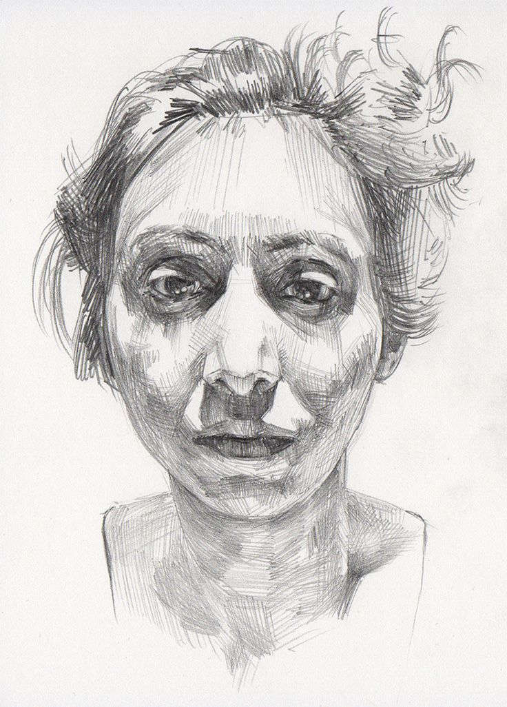 """""""Anita"""" - Mike Creighton, graphite on paper {contemporary ..."""