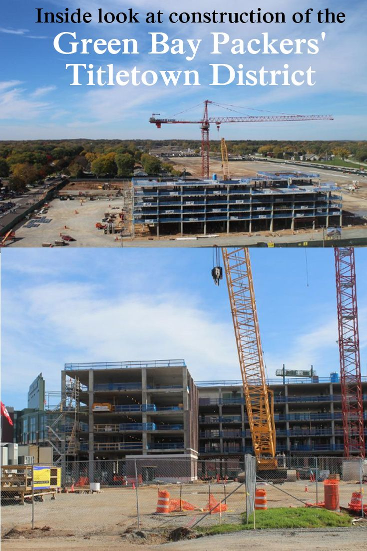 Inside look at construction of the Green Bay Packers' Titletown District  http://www.bizjournals.com/milwaukee/news/2016/10/17/inside-look-at-construction-of-the-green-bay.html