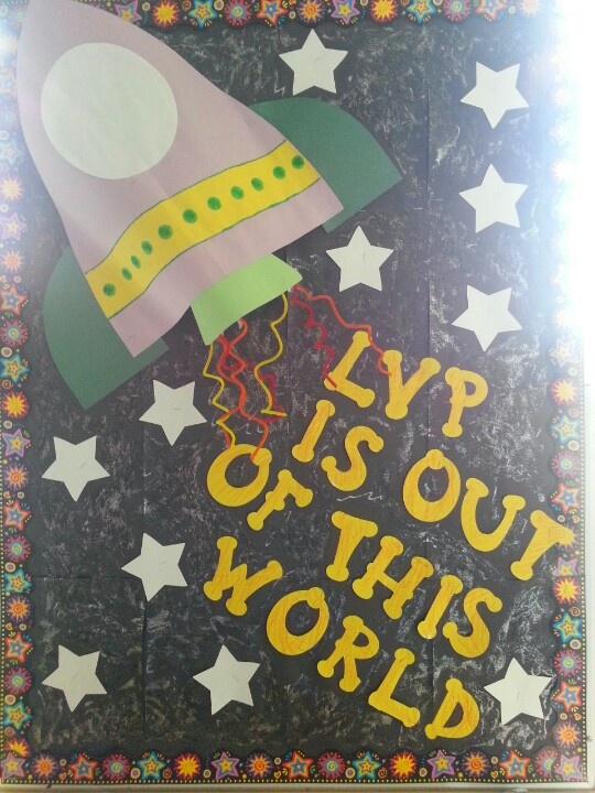 Outer space theme lvp is out of this world classroom for Outer space theme