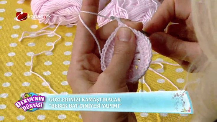 Bebek battaniyesi yapımı!