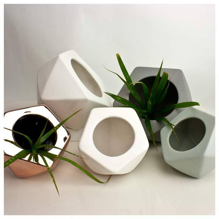Jennifer Dumet Small Geometric Planter - Copper | Koop.co.nz