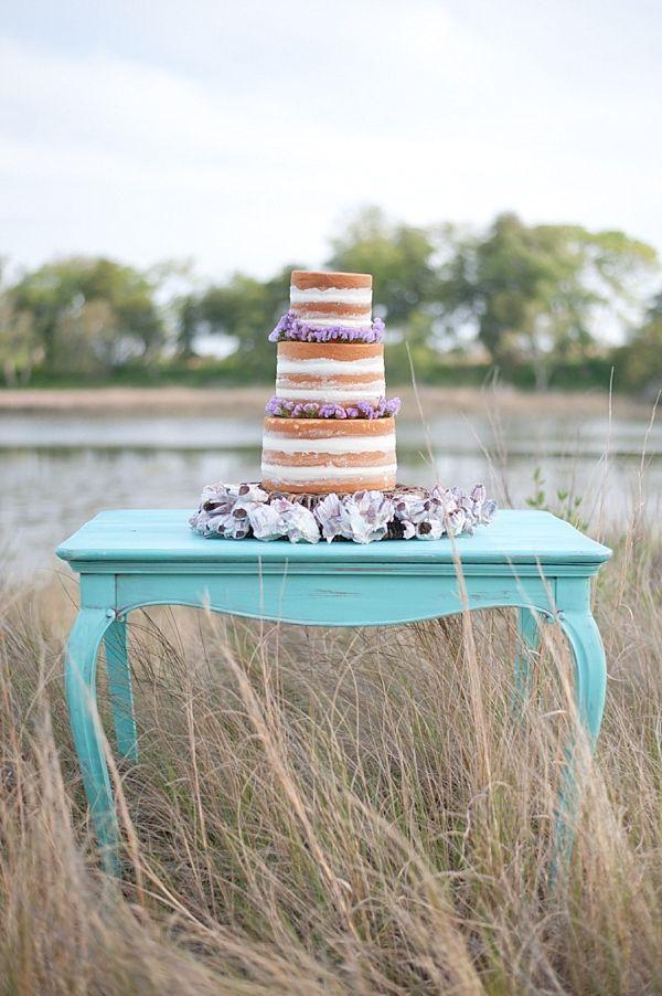 Bare Wedding Cake