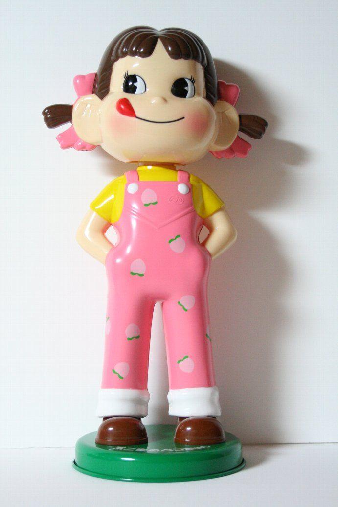 Fujiya Milky Peko doll — Peach♡