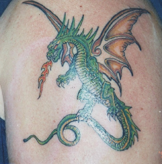 1000 images about fire dragon tattoos on pinterest for Dragon fire tattoos
