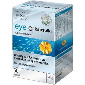 EYE Q x 60 chewable capsules, eicosapentaenoic acid