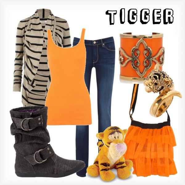 Tigger, created by elliekayba on Polyvore