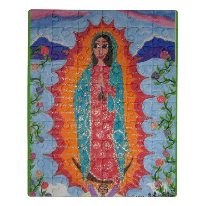 #Our Lady of Guadalupe Jigsaw Puzzle - #cute #gifts #cool #giftideas #custom