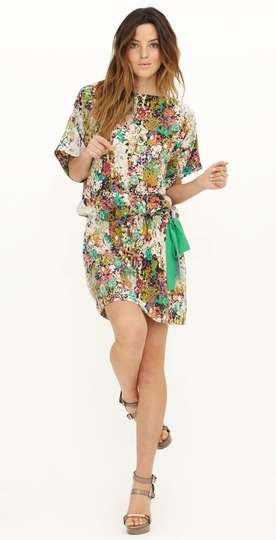 Ali Ro Floral-Print Dress « Moon Feathers Boutique Store
