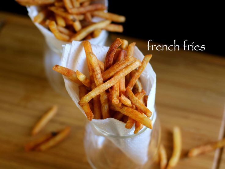 french fries recipe, crispy potato finger chips recipe with step by step photo/video recipe. popular potato chips recipe similar to the mcdonald's fast food