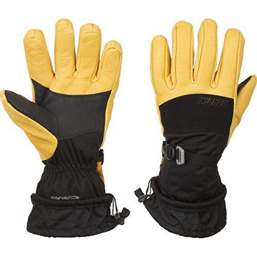 (ゴルディーニ) Gordini メンズ スキー グローブ Polar Glove 並行輸入品  新品【取り寄せ商品のため、お届けまでに2週間前後かかります。】 カラー:Black/Gold 商品詳細:Material: deerskin leather,  stretch woven,  faux suede,  LavaWool,  Thermoplush