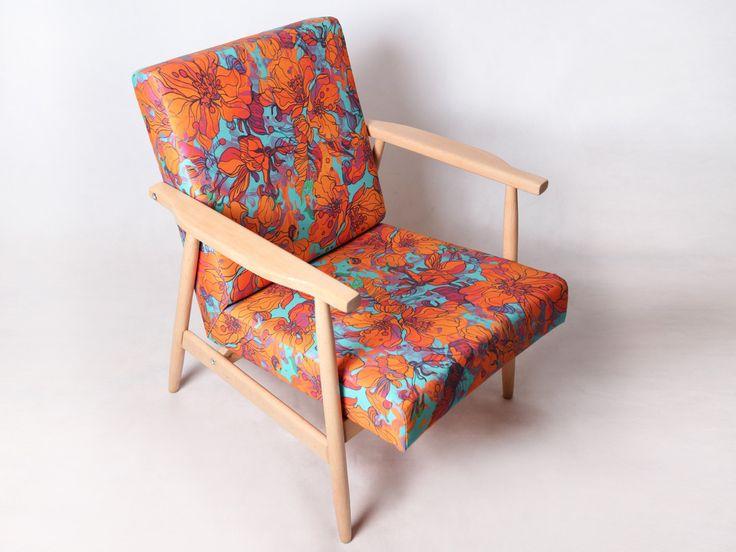 Vintage armchair - 60s & 70s by DesignPolski on Etsy