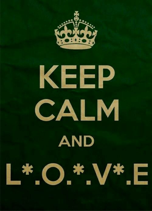 Keep Calm and L O V E .❤️