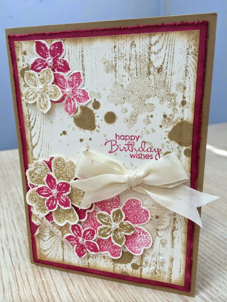 Stampin Up Petite Petals and Flower Shop.
