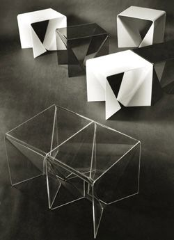 Neal Small origami tables