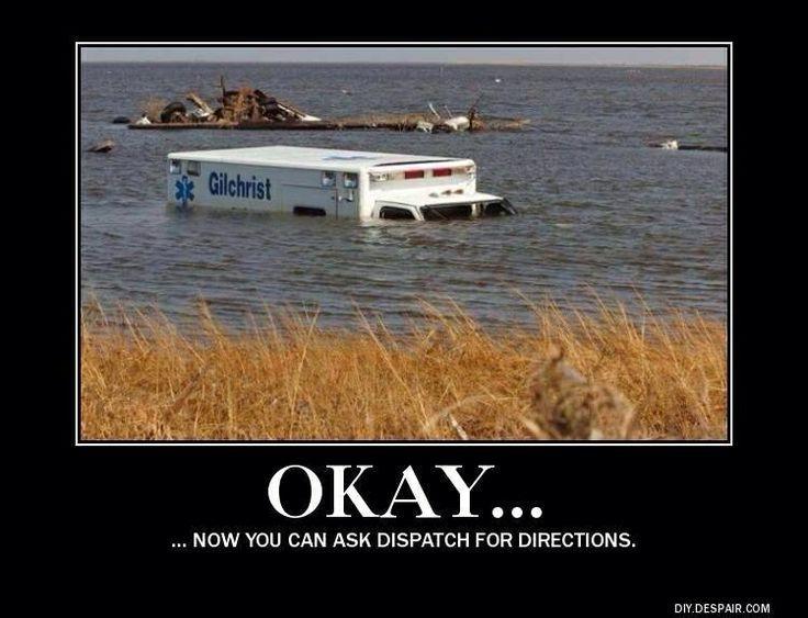 Wacky Wednesday: Directions...