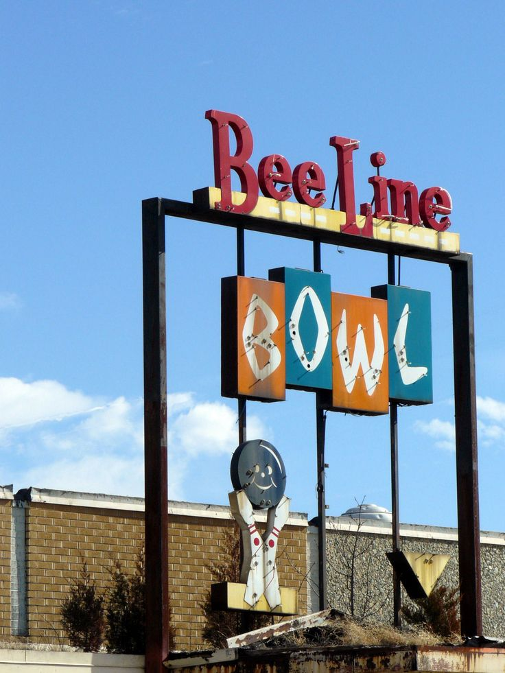 82 best images about Bowling Signs Old and New on ...