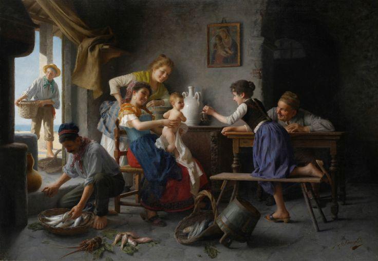 Giovanni Battista Torriglia - La Famiglia Del Pescatore