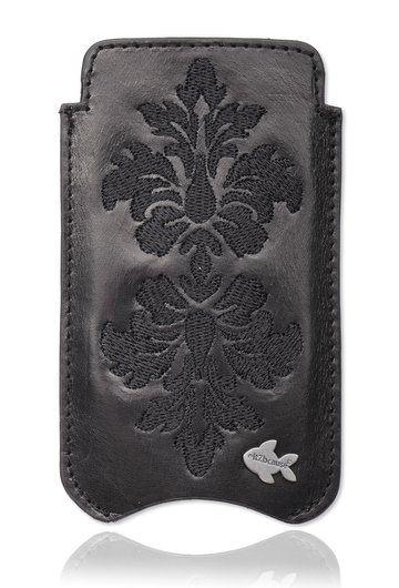 Luxe Embroidery iPhone 5 & 5S telefoonhoesje. Bekijk deze en andere telefoonhoesjes op http://telefoonhoesjes-shop.nl