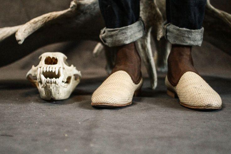 Street Etiquette x Del-Toro - raffia fabric