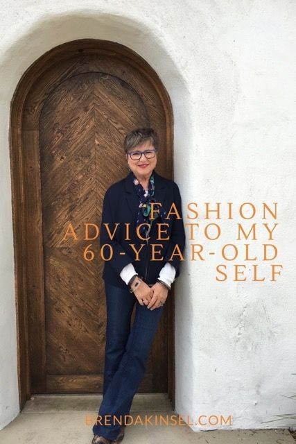 Fashion Advice for Women Over 60 on Brenda Kinsel website