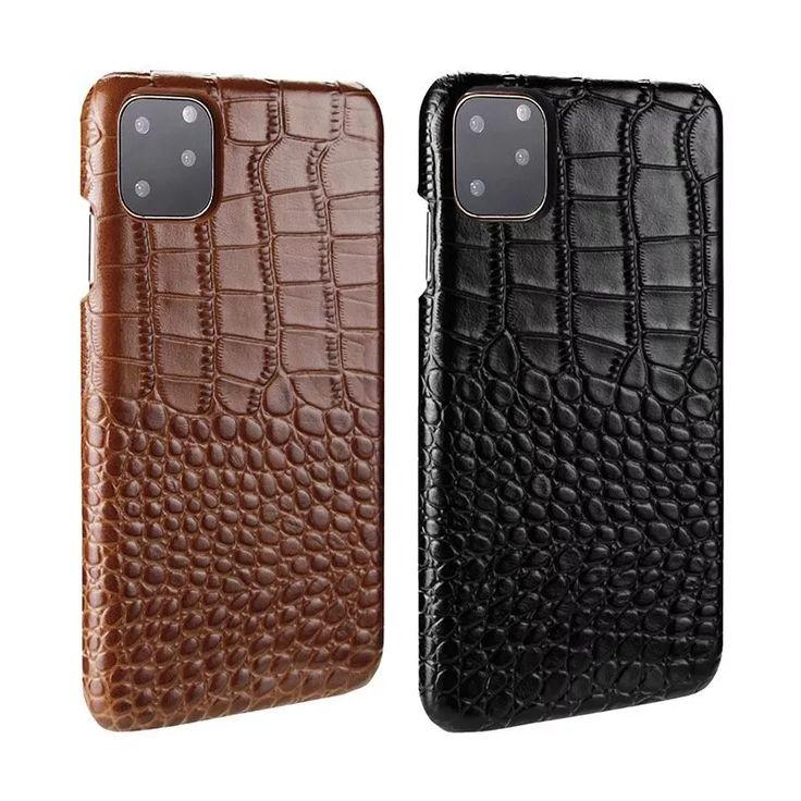 Crocodile skin iphone case iphone 12 pro max case geniune