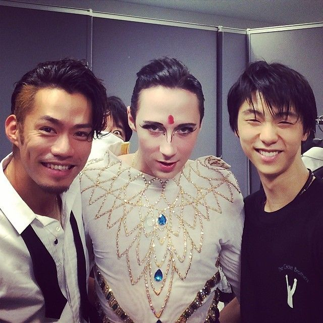 Daisuke, Johnny and Yuzuru