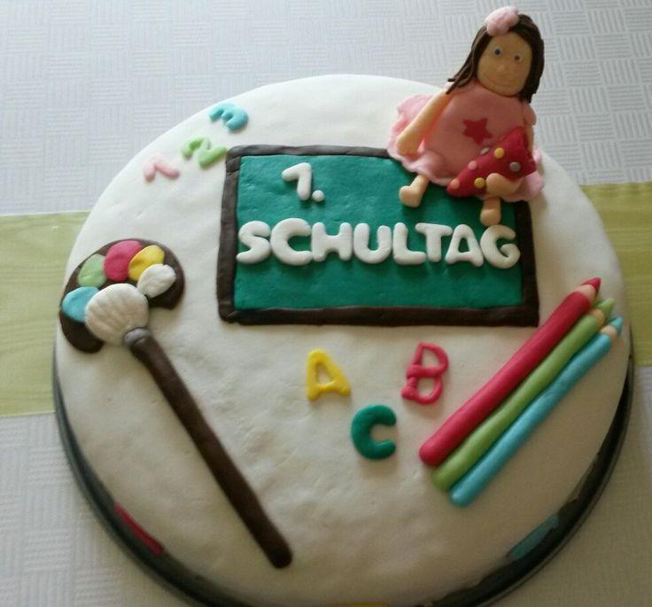 1. Schultag Torte