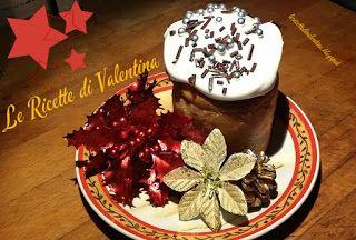 Le Ricette di Valentina: MINI PANETTONE farcito IDEA # 2: ripieno di marmellata di mirtilli e glassato