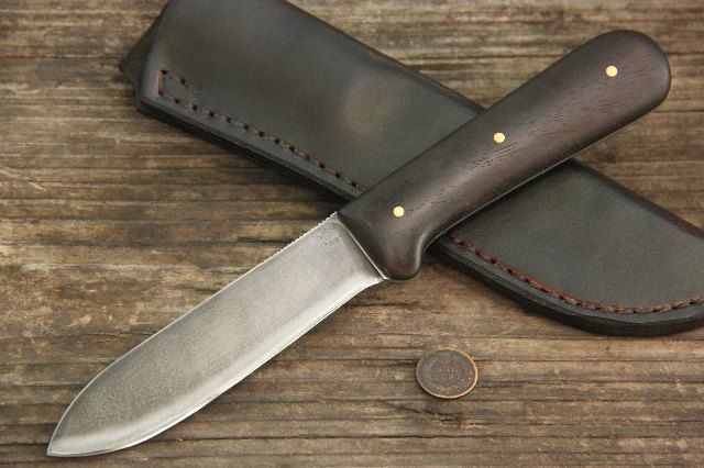 Probably the most accurate    reproduction of a Colclesser Kephart Knife, Kephart, Kephart Knives, Lucas Forge, Hunting Knives, Full Tang Hunting Knives, Custom Hunting Knives
