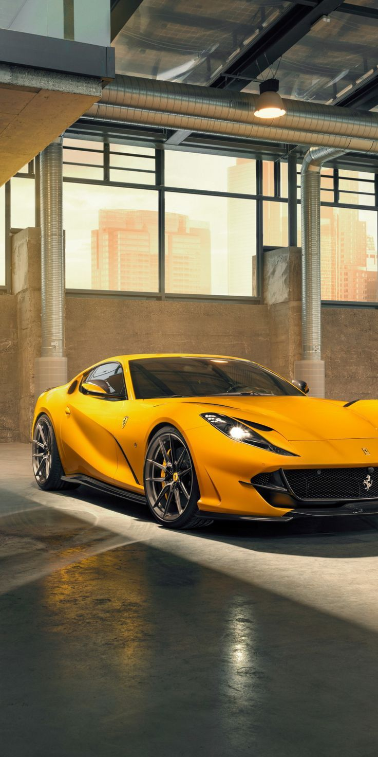 Wonderful Wallpaper 2019 Ferrari 812 Superfast Novitec Yellow 10802160 Wallpaper In 2020 Ferrari Dream Cars Ferrari Car