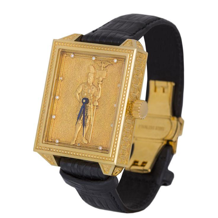 Часы «Юлий Цезарь» пришел, увидел, победил — Часовая мануфактура «GoldEon»
