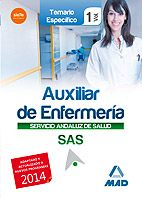 Este Manual está concebido para la adecuada preparación de las pruebas de acceso a la categoría de Auxiliar de Enfermería del Servicio Andaluz de Salud, conforme al Nuevo Temario aprobado para las OPE 2013 y 2014.