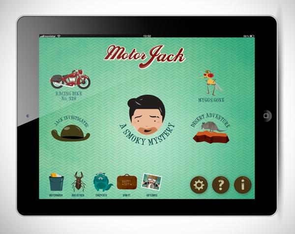 Motor Jack by Csikós Péter, via Behance