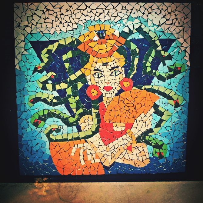 Mosaics are works of art created by using glass or ceramic tiles and grout to make a picture. They date as far back as 1500 BC and are all over the world. Mosaics adorn the ceilings in cathedrals with elaborate details or they can be found...