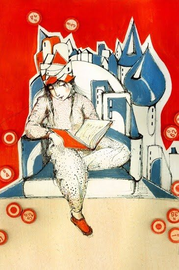1001 nights tales / 1001 noches de cuentos (ilustración de Darja Charapova)