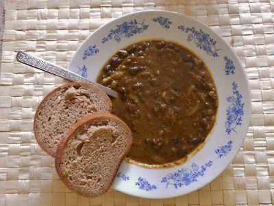 Guláš z adzuki fazolek ~ Lasička vaří s láskou