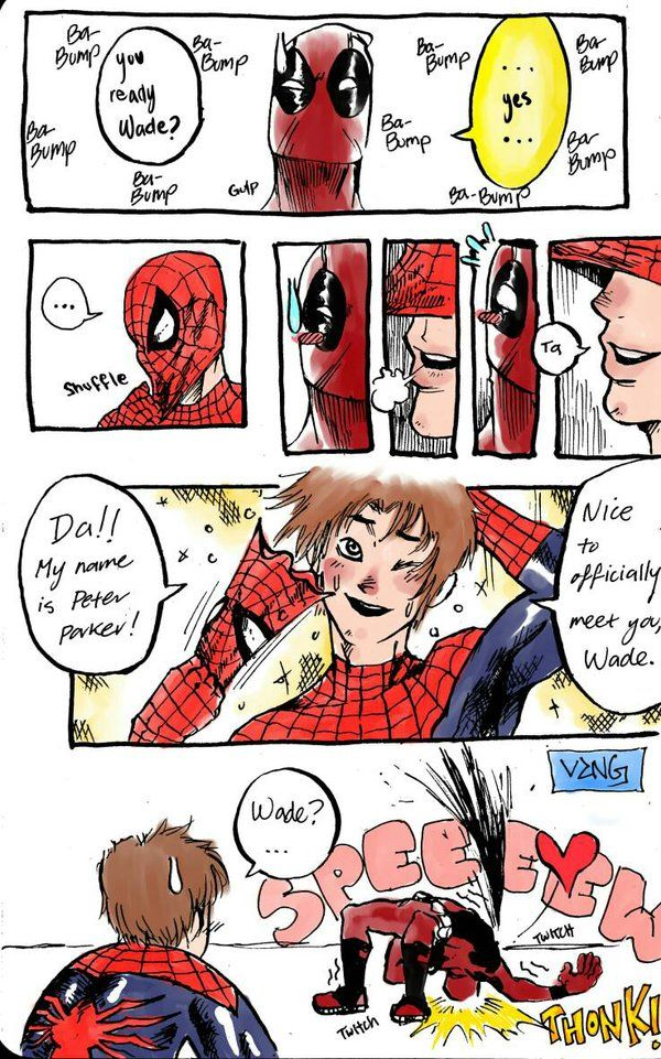 Spideypool by DSirPenguin